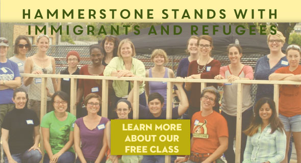 Hammerstone Stands with Immigrants and Refugees